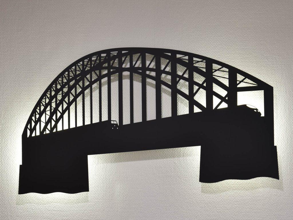 Hohenzollernbrücke ein